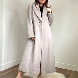 PLANET Alpaca Wool Full Length Jacket